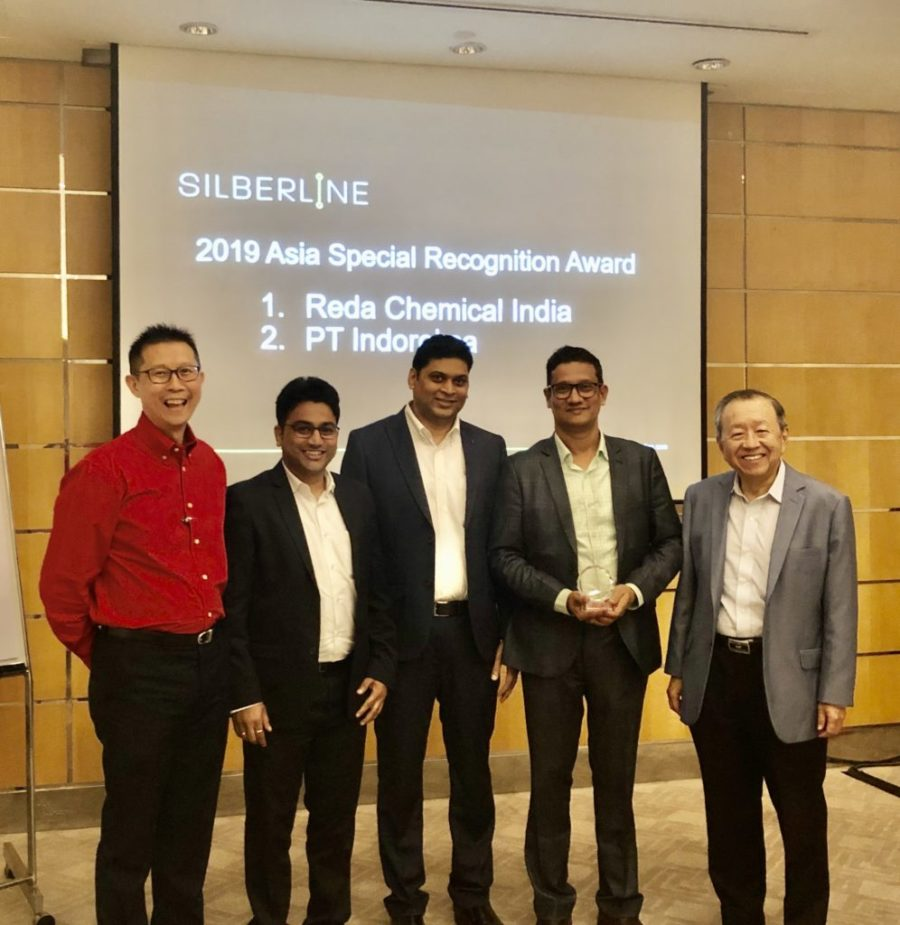 REDA Chemicals India Receives Silberline's Recognition Award